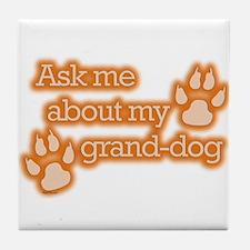 Grand-dog Tile Coaster