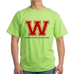 Woodrow Wilson Green T-Shirt