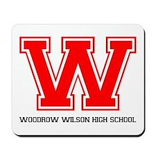 Woodrow Wilson Mousepad