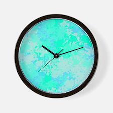 Sea Glass Memories Wall Clock