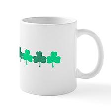 MINI SHAMROCK BORDER Mugs