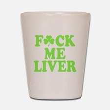 St. Patrick's Day Drinking Party Shot Glass