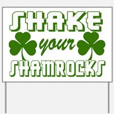 St. Patrick's Day Drinking Party Yard Sign