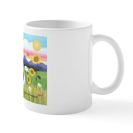 Summer Field / Sheltie Mug