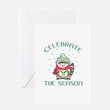 Celebrate The Season Greeting Cards