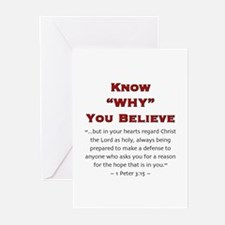Know Why 2.0 - Greeting Cards (Pk of 10)