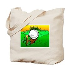 Golf Freud Tote Bag