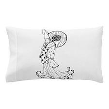 Kimono Squid Pillow Case