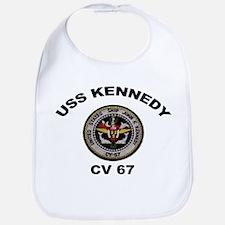 USS John Kennedy CV-67 Bib
