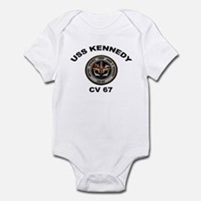 USS John Kennedy CV-67 Infant Bodysuit
