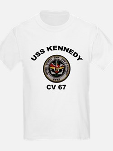 USS John Kennedy CV-67 T-Shirt