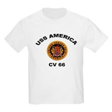 CV-66 USS America T-Shirt