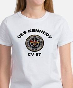 USS John Kennedy CV-67 Women's T-Shirt