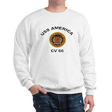 CV-66 USS America Sweatshirt