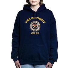 USS John Kennedy CV-67 Women's Hooded Sweatshirt