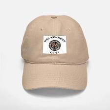 USS John Kennedy CV-67 Baseball Baseball Cap