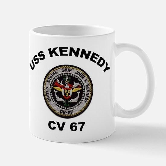 USS John Kennedy CV-67 Mug