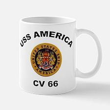 CV-66 USS America Mug