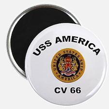 CV-66 USS America Magnet