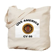 CV-66 USS America Tote Bag