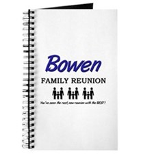 Bowen Family Reunion Journal