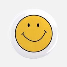 "MINI SMILEY FACE 3.5"" Button"