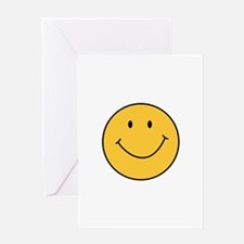 MINI SMILEY FACE Greeting Cards