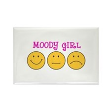 MOODY GIRL Magnets