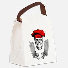Butcher Skull Canvas Lunch Bag