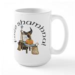 Gaelic Witch Scene Large Mug