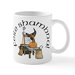 Gaelic Witch Scene Mug