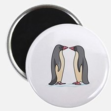 NOSE TO NOSE PENGUINS Magnets