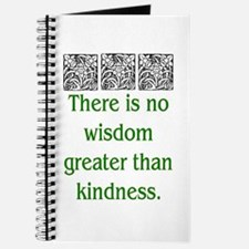 THERE IS NO KINDNESS... (GREEN) Journal