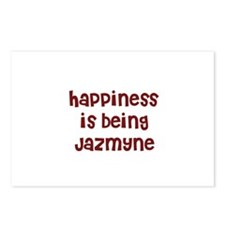 happiness is being Jazmyne Postcards (Package of 8