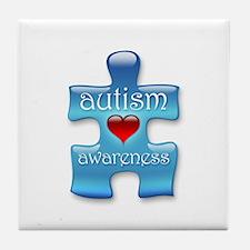 Autism Awareness (B) Tile Coaster