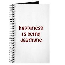 happiness is being Jazmyne Journal
