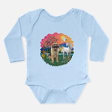 FantasyLand-Leonberger Long Sleeve Infant Bodysuit