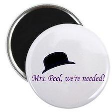 John Steed and Mrs. Peel Magnet