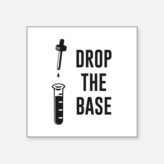 Drop the Bass Chemistry Base Sticker