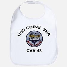 CVA-43 USS Coral Sea Bib
