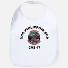 USS Philippine Sea CVS- 47 Bib