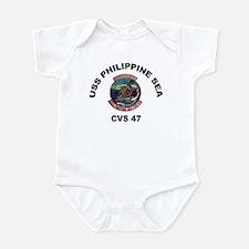 USS Philippine Sea CVS- 47 Infant Bodysuit