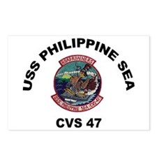 USS Philippine Sea CVS- 4 Postcards (Package of 8)