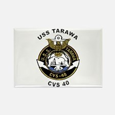 USS Tarawa CVS-40 Rectangle Magnet