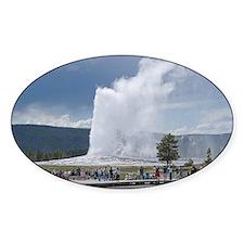 Yellowstone Faithful Oval Decal