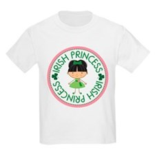 Irish Princess Girl T-Shirt