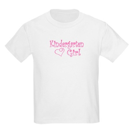 KINDERGARTEN GIRL Kids Light T-Shirt