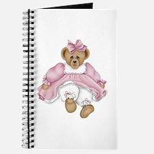 BEAR - PINK DRESS Journal