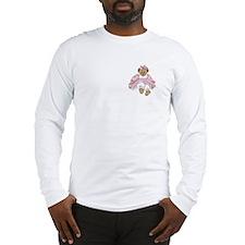 BEAR - PINK DRESS Long Sleeve T-Shirt
