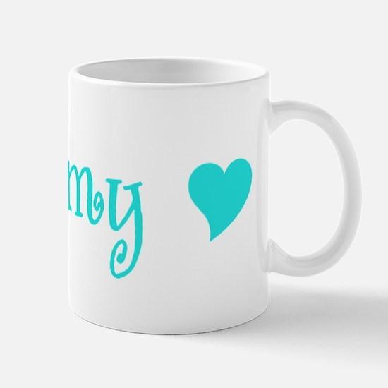 Grammy With Heart Mug